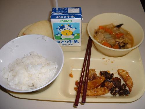 這是日本的營養午餐